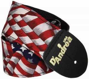 us-flag-guitar-strap