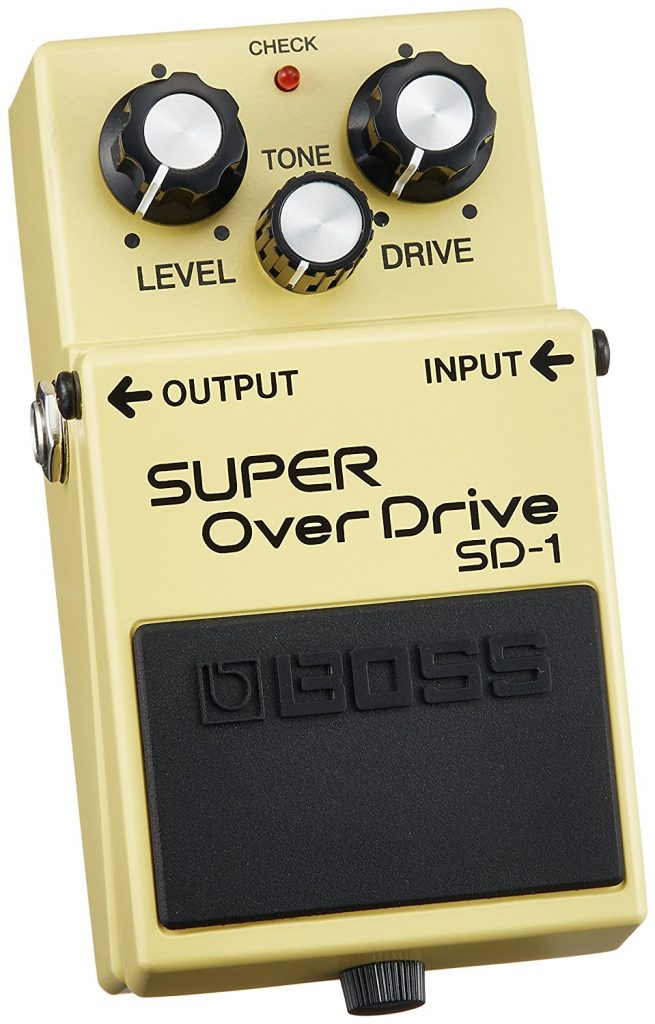 Boss SD-1 Super Overdrive stompbox