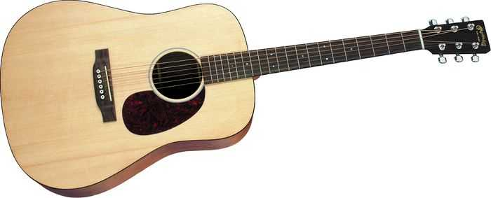Dreadnought acoustic body shape